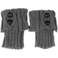 """*2 for $20* NEW GREY KNIT CROCHET BOOT CUFF WARM 1 for $15 or two for $20. Brand new Grey boot cuffs. 6"""" long. Comes in a pair of 2. Brown button design.NO TRADES OR QUESTION COMMENTS FROM NON SERIOUS BUYERSDO NOT BUNDLE UNLESS YOU INTEND TO BUYDO NOT LOWBALL & NO PRICE COMMENTSPRICE IS REFLECTED ON PM FEES AND HOW MUCH I PAID Boutique Accessories Hosiery & Socks"""