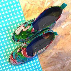 @monicameika ya puede usted coger su talla #flamingo . #espadrilles #alpargata #handmade #hechoamano #calzado #shoe #malasaña #madrid