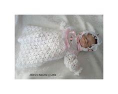 Ravelry: Emmy Christening Doll Crochet Pattern #89 pattern by ShiFio's Patterns