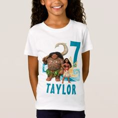 Moana | Birthday T-Shirt - tap, personalize, buy right now!