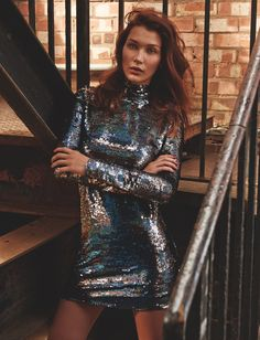 Bella Hadid Pose for Topshop holiday 2015 campaign Photoshoot