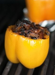 Healthy Low Calorie Recipes: Stuffed Bell Peppers