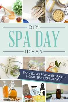 This list of DIY spa day ideas is a GOLDMINE! Can't wait to have a home spa day! ❤️spa day at home - spa night at home - diy spa day at home - Diy Spa Day, Spa Day At Home, Dating Divas, Spa Party, Couples Spa Day, Spa Tag, Home Spa Treatments, Body Treatments, Spa Night