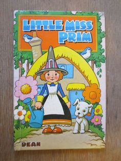 Little Miss Prim (1968), illustrated by Norman T. Stephenson, via Etsy.