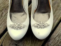 Wedding Shoe Clips Vintage Style Shoe Clips Bridal Shoe