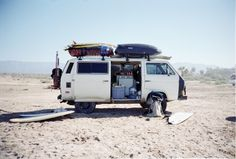 Surf Vanagon, 2 racks are better than one