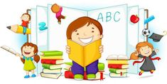 Welcome To School, School Clipart, English Lessons, Conte, Book Worms, Back To School, Family Guy, Clip Art, Classroom