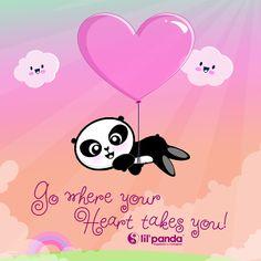 love panda #panda #lilpanda #love #Hello Kitty www.lilpanda.com