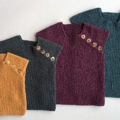Ravelry: Janus and Jane pattern by Ruth Sorensen Free Knitting Patterns Uk, Knitting For Kids, Baby Knitting, Crochet Baby, Knit Crochet, Baby Barn, Baby Vest, Baby Patterns, Diy Baby