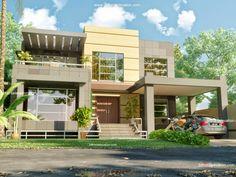 3D Front Elevation com  Beautiful Modern 1 Kanal Home Design Plan    Basement Plan3D Front Elevation com  Beautiful Modern 1 Kanal Home Design Plan  . Home Design Plans With Photos. Home Design Ideas