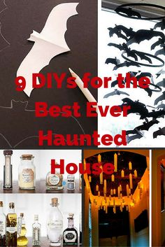 If you love Halloween these DIY ideas will help you take your party decorations to the next level. You'll find Halloween ideas for kids or adults here.