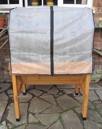 Veg Trug cover met frame