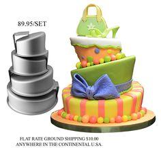 cake pans. .