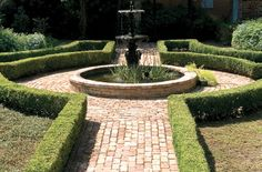 spanish hedges courtyard fountain grounds - Bing Images