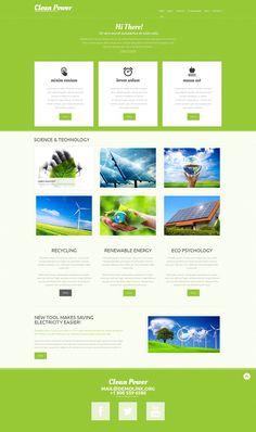 Alternative Power - WordPress Theme