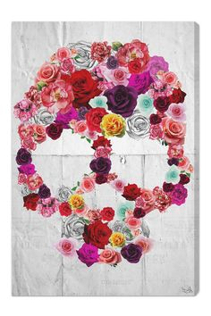 "Oliver Gal ""Bed of Roses"" Canvas Art on HauteLook"