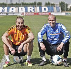Benzema | Zidane...los franchutes bellos del RM <3
