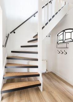 Inventive Staircase Design Tips for the Home – Voyage Afield Open Trap, Open Stairs, House Stairs, Loft Stairs, Stair Makeover, Staircase Design, Staircase Ideas, Fixer Upper, Living Room Designs
