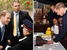 PROUD military man Prince William officially unveiled the Imperial War Museum's new galleries today.