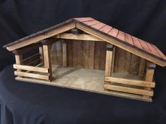 Wood Stable Double Stalls /Barn signs, gift i Nativity Stable, Nativity Crafts, Christmas Nativity, Wood Crafts, Barn Signs, Toy Barn, Holiday Crafts, Holiday Decor, Clothespin Dolls