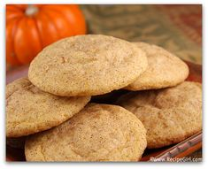 pumpkin snickerdoodle recipes