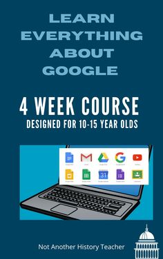 Want your child to master Google?Learn to Use Google Docs, Slides, Forms, Gmail, and more with Google in four weeks!Jump right into the basics with lessons and a progressive set of tips designed to help students make the most of Google's technology. By completing Fundamentals, you'll be ready to participate in distance learning!