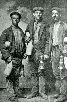 Colliers Working Clothes - from Ifor Coggan showing Fochriw collieries in 1909.
