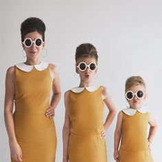 Mother Of Two Takes Adorable Photos Of Herself And Her Daughters In Matching Clothing (Part 2)