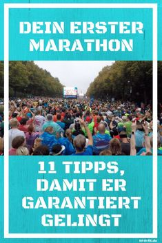 Your first marathon - with these 11 tips you will succeed Fitness Workouts, Interval Running Workouts, Sport Fitness, Running Form, Running Plan, Running Race, Sport Motivation, Marathon Training, Marathon Laufen