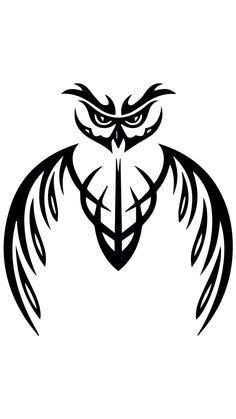 Tribal Owl Tattoos, Tribal Art, Tattoo Set, Arm Band Tattoo, Owl Stencil, Black Dragon Tattoo, Owl Tattoo Drawings, Owl Tattoo Design, Tattoo Designs
