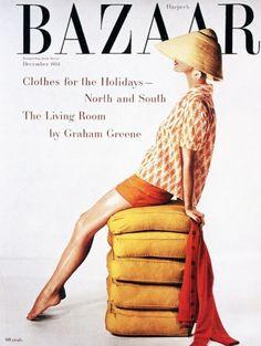 Evelyn Tripp by Louise Dahl Wolfe for Harper's Bazaar, Dec 1953