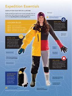 Quark Expeditions » Quark Expeditions Blog » How to dress for polar travel