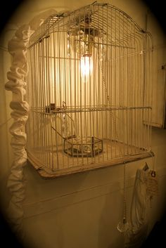 *for my Mom's old bird cage?