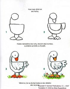 Duck step by step