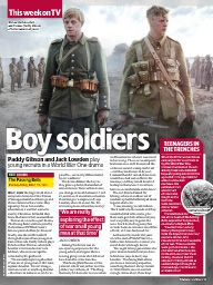 "I saw this in ""November 01, 2014"" in TV & Satellite Week November 01, 2014."