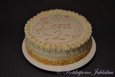 Oonan syntymäpäiväkakku Desserts, Food, Tailgate Desserts, Deserts, Essen, Postres, Meals, Dessert, Yemek