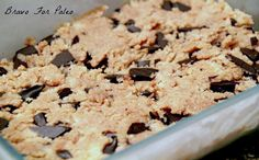 This Paleo Cookie Dough Bar is one of the best grain-free desserts.