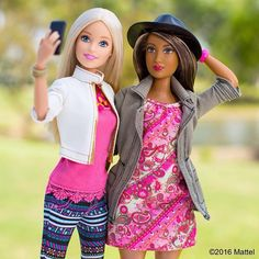 Capturing memories with great friends for some afternoon fun!  Click on the link in our bio to shop the dolls!