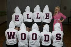 Legally Blonde the Musical Costumes | LEGALLY BLONDE COSTUMES FOR RENT / SALE