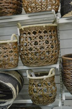 more octagon-based than hexagon, but still triaxial Basket Willow, Big Basket, Rattan Basket, Wicker, French Baskets, Traditional Baskets, Bountiful Baskets, Indian Baskets, Wire Baskets