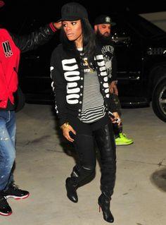 Jamie Foxx Travels to Miami, Attends Trayvon Martin Peace Rally + Teyana Taylor Parties in ATL - theJasmineBRAND Black Girl Fashion, Star Fashion, Look Fashion, Urban Fashion, Trendy Fashion, Classy Outfits, Chic Outfits, Fashion Outfits, Sexy Outfits