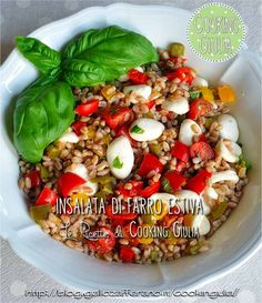 Healthy Cooking, Cooking Recipes, Healthy Recipes, Best Italian Recipes, Fruit And Veg, Light Recipes, Pasta Dishes, My Favorite Food, Summer Recipes