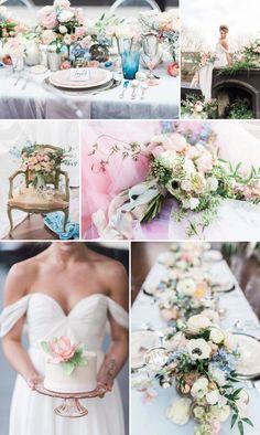 Rose Quartz and Serenity Ballet Wedding Inspiration - A PRINCESS INSPIRED BLOG #rosequartzwedding #serenitywedding #blushwedding #lightbluewedding #pastelwedding #balletwedding #balletinspiredwedding