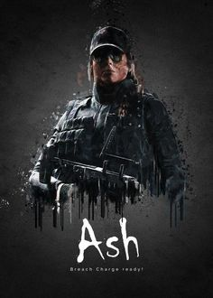 Do you like video games? Do you beat video games after playing once? Do you feel like the games are too easy? Rainbow Six Siege Ash, Rainbow Six Siege Poster, Rainbow 6 Seige, Rainbow Six Siege Memes, Tom Clancy's Rainbow Six, Raimbow Six, Cartoon Network, Six Video, R6 Wallpaper