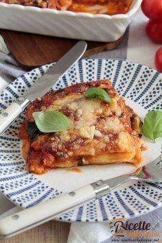 Eggplant recipe with Parmesan cheese Recipes With Parmesan Cheese, Eggplant Recipes, Antipasto, Fett, Cooking Recipes, Grandma's Recipes, Lasagna, Italian Recipes, French Toast