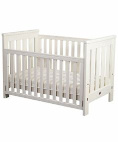Drop side cot bed