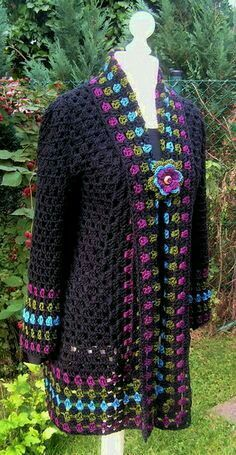 Crochet and Knitting Pattern Free 2019 – Crochet Tricks and Tips Browse lots of Free Crochet Patterns. We have compiled crochet pattern and knitting patterns. See all of crochet and knitting patterns. Gilet Crochet, Crochet Coat, Crochet Cardigan Pattern, Crochet Jacket, Crochet Blouse, Crochet Shawl, Crochet Clothes, Crochet Granny, Irish Crochet