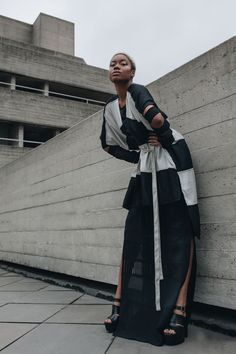 Wrap dress/kimono. Sustainable and ecological production.  Image: Laura Viktualia - Model: De'love - Mua: Dana DG White