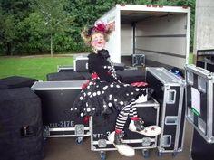 #kellysklowns #nightcircus #clown #firekrackerkellytheklown #kelly #rednose #clownlove #clownshoes