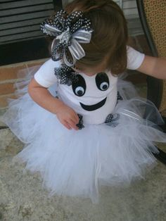 Little girl ghost costume